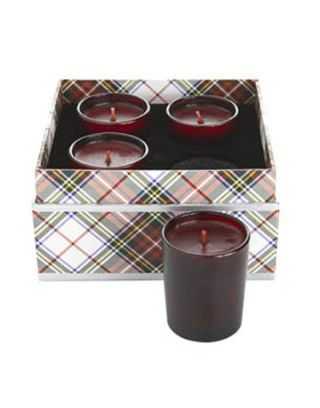 candle set of four