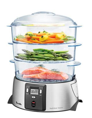 steamer with food