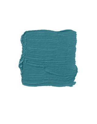 teal paint swatch