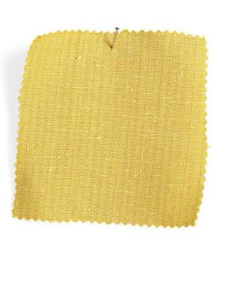 yellow fabric swatch