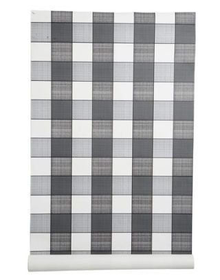 black and white checked wallpaper