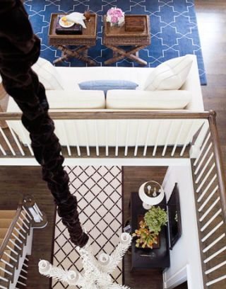 rugs in entry and living room