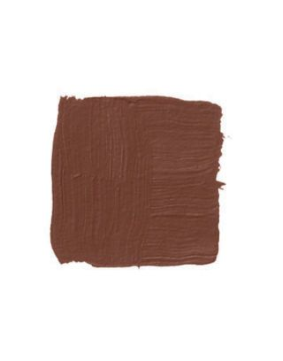 chocolate brown paint swatch