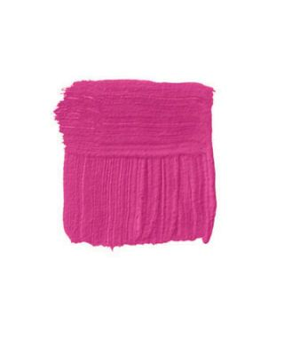 hot pink paint swatch