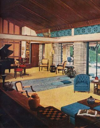 1960s Furniture Styles Pictures - Interior Design from the 1960s