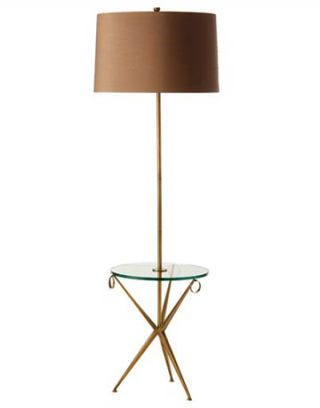 lamp with cocktail table