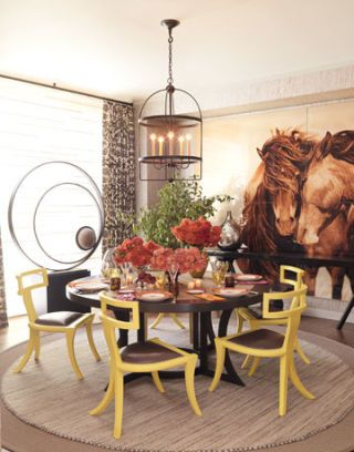 showhouse dining room