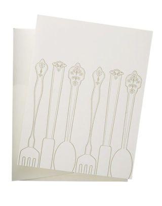 silverware card
