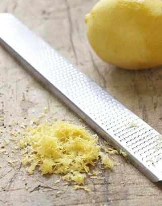 lemon zest and grater
