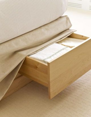 drawers underneath the bed