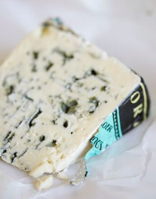 roquefort blue cheese wedge