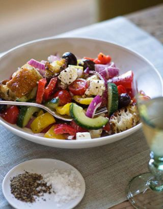 Ina Garten Greek Panzanella Recipe - Ina Garten Recipes