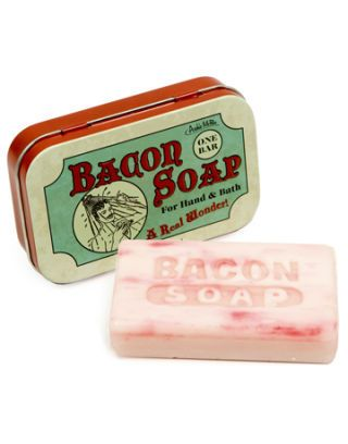 bacon scented soap