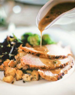 Erflied Turkey With Herb Glaze And Gravy Recipe Williamssonoma Cookbook