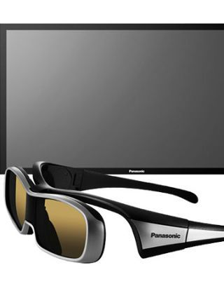 big screen tv with 3d glasses