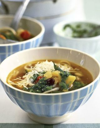 Easy Vegetable Soup Recipe: Soup au Pistou