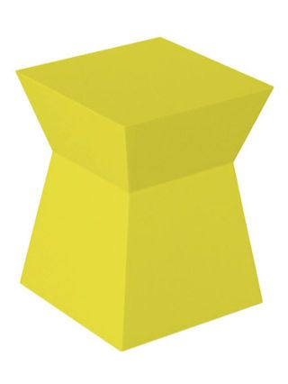 modern yellow stool