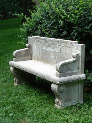 barbara israel marble seat