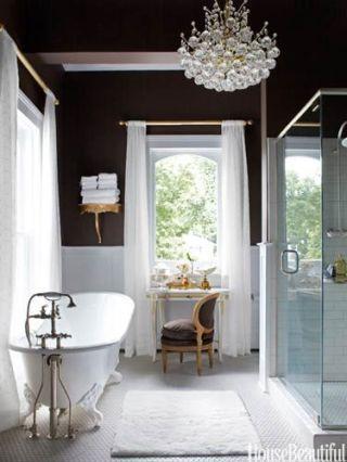 Room, Interior design, Bathroom sink, Architecture, Floor, Plumbing fixture, Property, Glass, Flooring, White,