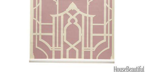 badminton trellis wallpaper