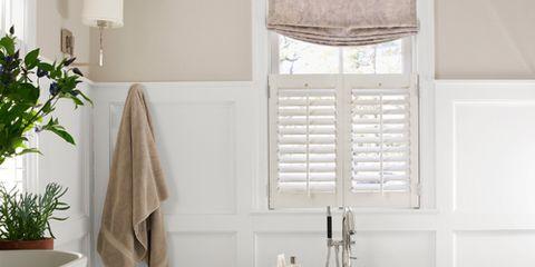 Room, Interior design, Product, Plumbing fixture, Property, Architecture, Tap, Bathroom sink, White, Floor,
