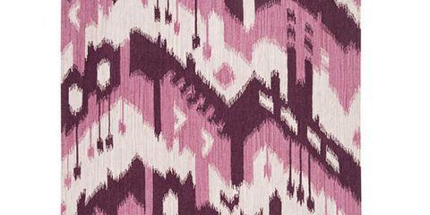 purple ikat rug