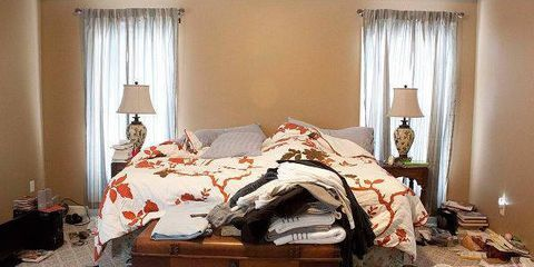 BEFORE & AFTER: A Bedroom Gets A $500 Facelift