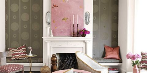 barry dixon interiors of victorian row house pink and brown room decor