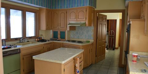 Before & After: A Blah 1970's Kitchen Get a French Country Makeover