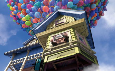 "The House from ""Up"" Really Exists"