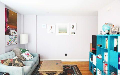 My 30-Minute, $0 Nate Berkus Living Room Makeover