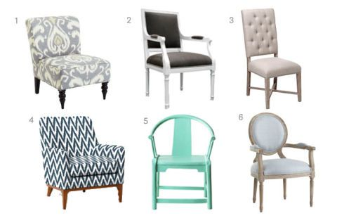 Rencourt Side Chair Was $299, Now $250. Zgallerie.com. 4. Sloan Upholstered  Chair Was $799, Now $640. Westelm.com. 5. Riviera Green Ming ... Pictures