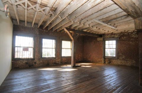 Empty Loft Living Room Makeover American Dream Builders