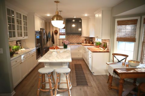Nate Berkus Transforms A Family S Kitchen Kitchen Makeover With