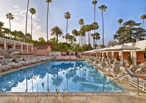 The Beverly Hills Hotel Pool Refresh By Designer Adam Tihany