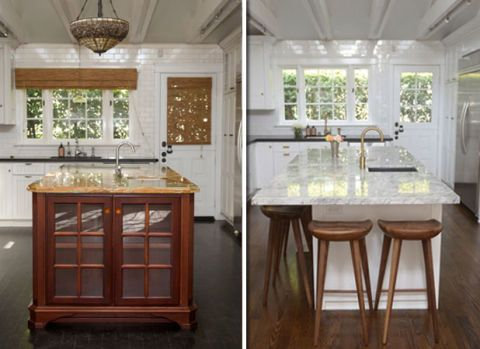 Before And After Sleek Kitchen Cupcakes And Cashmere Kitchen