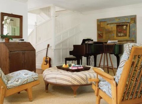 music room in susan stromans country home