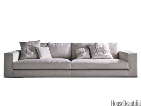 Brown, Furniture, Room, White, Couch, Living room, Wall, Style, Interior design, Rectangle,