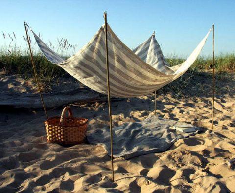 Sand, Landscape, Beach, Basket, Wind, Building material, Wicker, Boat, Stock photography, Storage basket,