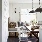 Room, Interior design, Floor, Table, White, Furniture, Ceiling, Interior design, Home, Flooring,