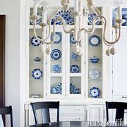 rope wrapped chandelier