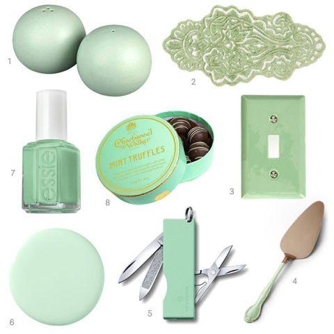 Mint Green Home Accessories Mint Green Decor