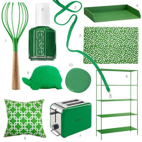 Kelly green home decor kelly green accessories for Kelly green decor