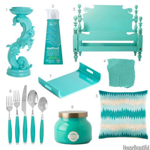 Merveilleux Turquoise Home Accessories