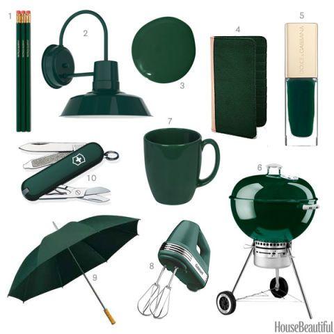 Forest Green Accessories Dark Green Decor