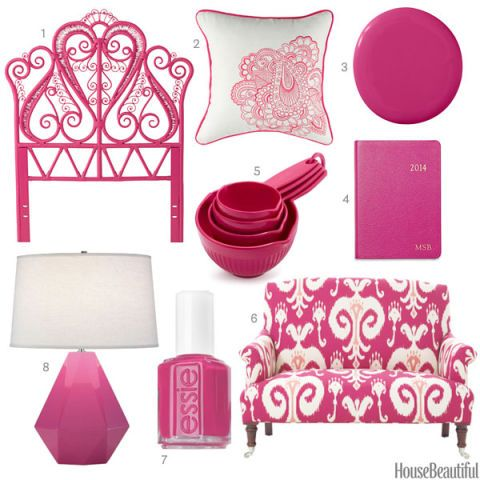 Bright Pink Home Accessories