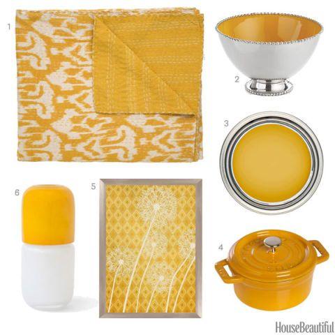 Marigold Color Accessories Yellow Home Decor