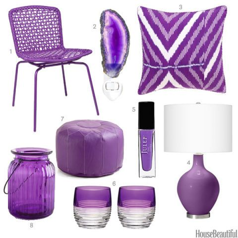 Bright Purple Home Accessories