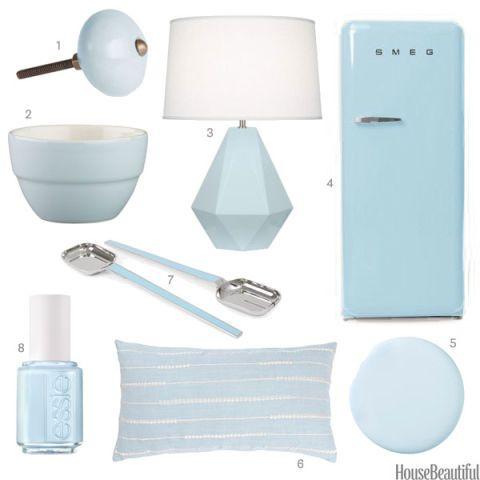 Pale Blue Home Accessories Light Blue Home Decor