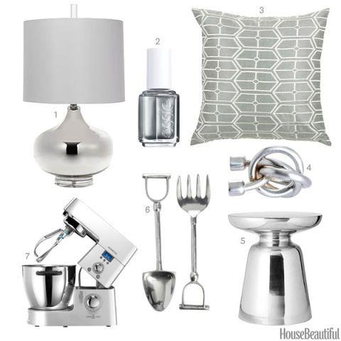 Silver Home Accessories Silver Home Decor